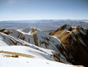 Climbing The Chachani Volcano