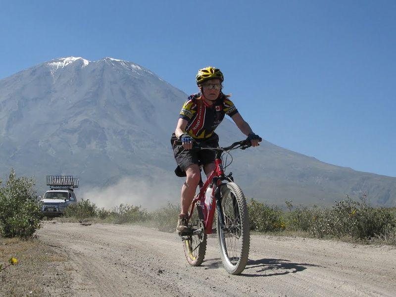 Donwhill In PichuPichu Volcano