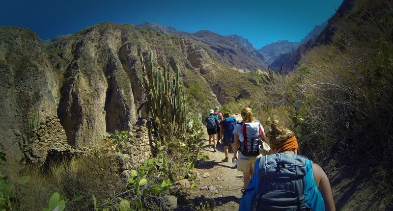Colca Canyon And Yanque Trek