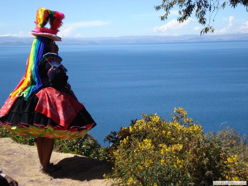 Lake Titikaka And Island