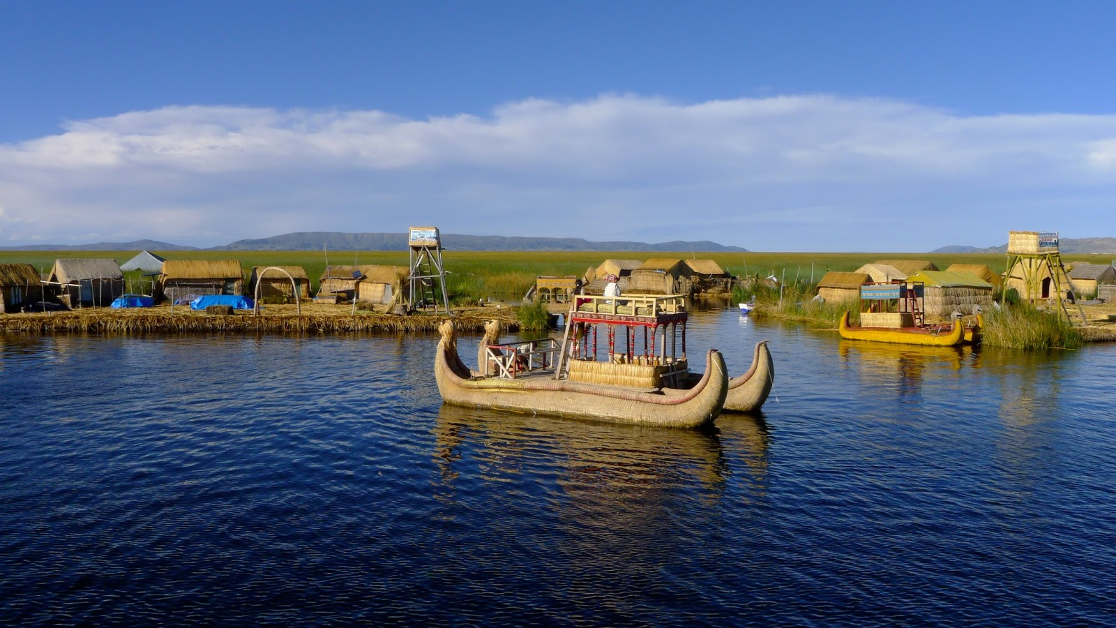 Uros Floating Island Experience